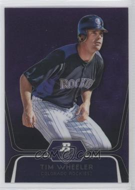 2012 Bowman Platinum Prospects Retail Purple Refractor #BPP57 - Tim Wheeler