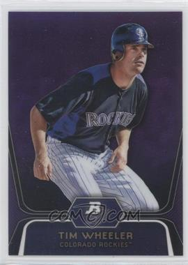 2012 Bowman Platinum Prospects Retail Purple Refractor #BPP57 - Tim Wheeler