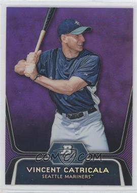 2012 Bowman Platinum Prospects Retail Purple Refractor #BPP59 - Vinnie Catricala