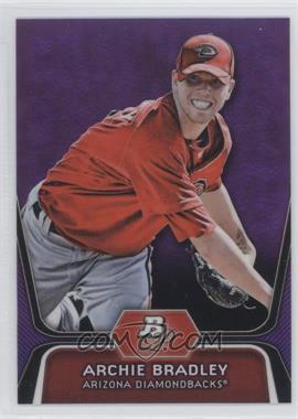 2012 Bowman Platinum Prospects Retail Purple Refractor #BPP61 - Archie Bradley