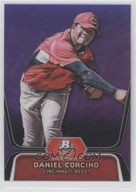 2012 Bowman Platinum Prospects Retail Purple Refractor #BPP66 - Daniel Corcino