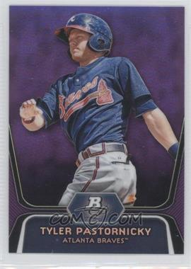 2012 Bowman Platinum Prospects Retail Purple Refractor #BPP70 - Tyler Pastornicky