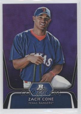 2012 Bowman Platinum Prospects Retail Purple Refractor #BPP71 - Zach Cone