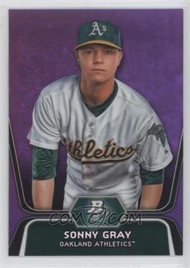 2012 Bowman Platinum Prospects Retail Purple Refractor #BPP78 - Sonny Gray