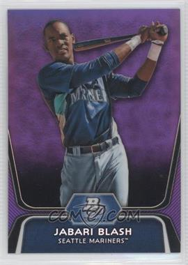 2012 Bowman Platinum Prospects Retail Purple Refractor #BPP79 - Jabari Blash