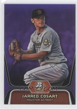 2012 Bowman Platinum Prospects Retail Purple Refractor #BPP81 - Jarred Cosart