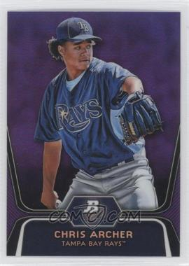 2012 Bowman Platinum Prospects Retail Purple Refractor #BPP82 - Chris Archer