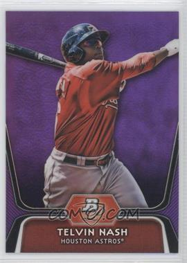 2012 Bowman Platinum Prospects Retail Purple Refractor #BPP89 - Telvin Nash