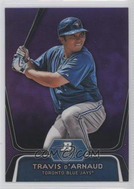 2012 Bowman Platinum Prospects Retail Purple Refractor #BPP9 - Travis d'Arnaud