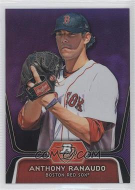 2012 Bowman Platinum Prospects Retail Purple Refractor #BPP93 - Anthony Ranaudo