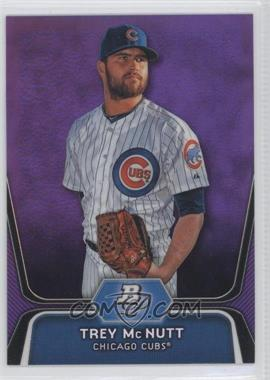 2012 Bowman Platinum Prospects Retail Purple Refractor #BPP95 - Trey McNutt