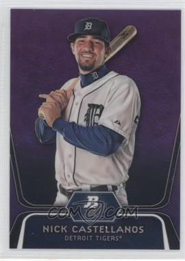 2012 Bowman Platinum Prospects Retail Purple Refractor #BPP97 - Nick Castellanos