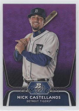 2012 Bowman Platinum Prospects Retail Purple Refractor #BPP97 - Nick Castellanos