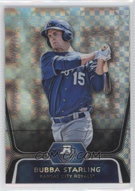 2012 Bowman Platinum Prospects X-Fractor #BPP100 - Bubba Starling