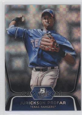 2012 Bowman Platinum Prospects X-Fractor #BPP35 - Jurickson Profar