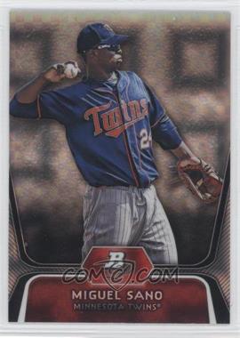 2012 Bowman Platinum Prospects X-Fractor #BPP39 - Miguel Sano