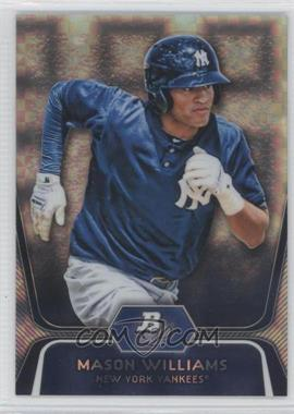 2012 Bowman Platinum Prospects X-Fractor #BPP90 - Mason Williams