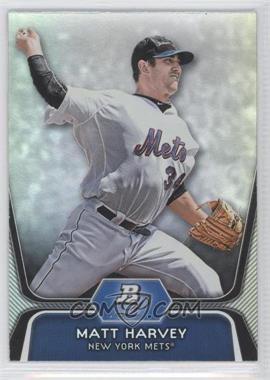 2012 Bowman Platinum Prospects #BPP18 - Matt Harvey