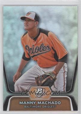 2012 Bowman Platinum Prospects #BPP23 - Manny Machado