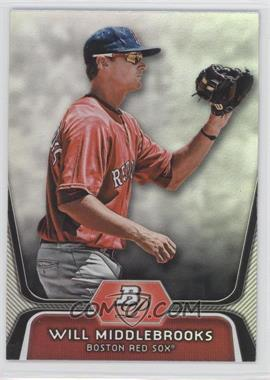 2012 Bowman Platinum Prospects #BPP26 - Will Middlebrooks