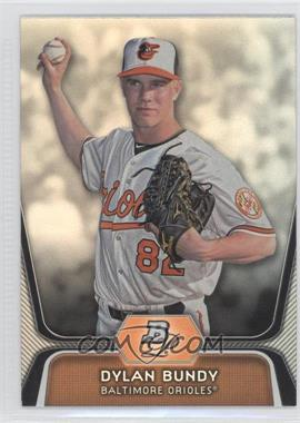 2012 Bowman Platinum Prospects #BPP64 - Dylan Bundy