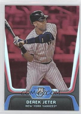 2012 Bowman Platinum Red #14 - Derek Jeter