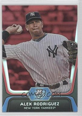 2012 Bowman Platinum Red #36 - Alex Rodriguez