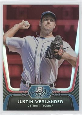 2012 Bowman Platinum Red #37 - Justin Verlander