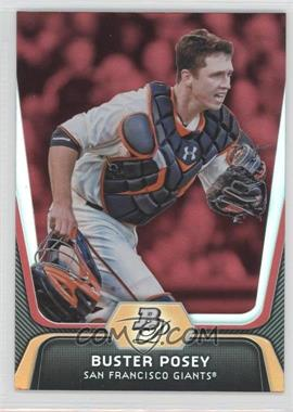 2012 Bowman Platinum Red #57 - Buster Posey