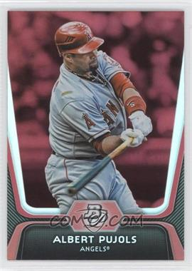 2012 Bowman Platinum Red #68 - Albert Pujols