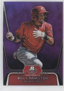 2012 Bowman Platinum Retail Prospects Purple Refractor #BPP16 - Billy Hamilton