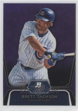 2012 Bowman Platinum Retail Prospects Purple Refractor #BPP19 - Brett Jackson