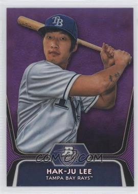 2012 Bowman Platinum Retail Prospects Purple Refractor #BPP20 - Hak-Ju Lee