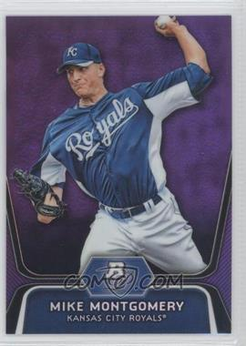 2012 Bowman Platinum Retail Prospects Purple Refractor #BPP28 - Mike Moustakas