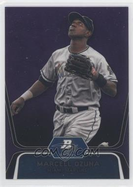 2012 Bowman Platinum Retail Prospects Purple Refractor #BPP31 - Marcell Ozuna