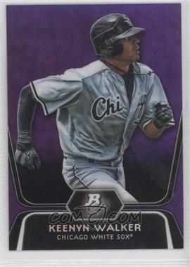 2012 Bowman Platinum Retail Prospects Purple Refractor #BPP37 - Keenyn Walker