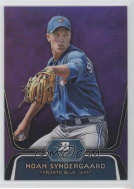 2012 Bowman Platinum Retail Prospects Purple Refractor #BPP44 - Noah Syndergaard