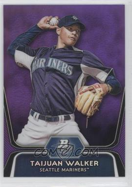 2012 Bowman Platinum Retail Prospects Purple Refractor #BPP46 - Taijuan Walker