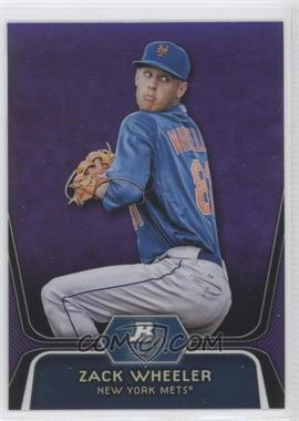 2012 Bowman Platinum Retail Prospects Purple Refractor #BPP48 - Zack Wheeler