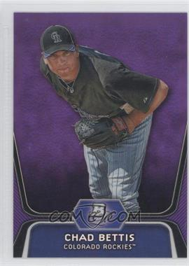 2012 Bowman Platinum Retail Prospects Purple Refractor #BPP5 - Chad Bettis