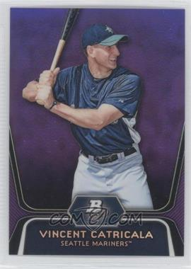 2012 Bowman Platinum Retail Prospects Purple Refractor #BPP59 - Vinnie Catricala