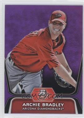 2012 Bowman Platinum Retail Prospects Purple Refractor #BPP61 - Archie Bradley