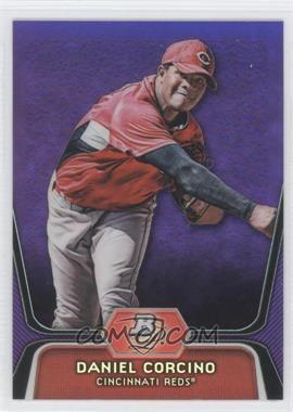 2012 Bowman Platinum Retail Prospects Purple Refractor #BPP66 - Daniel Corcino