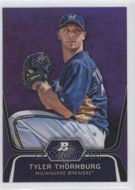 2012 Bowman Platinum Retail Prospects Purple Refractor #BPP67 - Tyler Thornburg