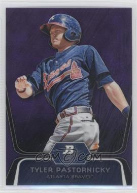 2012 Bowman Platinum Retail Prospects Purple Refractor #BPP70 - Tyler Pastornicky