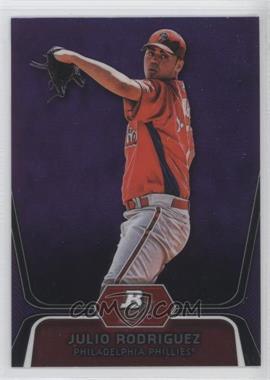 2012 Bowman Platinum Retail Prospects Purple Refractor #BPP77 - Julio Rodriguez