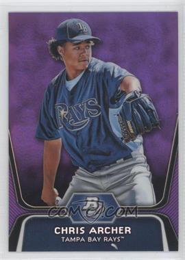 2012 Bowman Platinum Retail Prospects Purple Refractor #BPP82 - Chris Archer