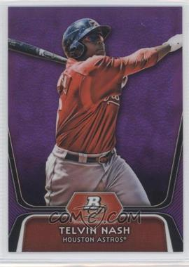2012 Bowman Platinum Retail Prospects Purple Refractor #BPP89 - Telvin Nash