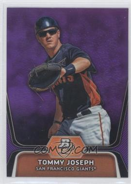 2012 Bowman Platinum Retail Prospects Purple Refractor #BPP94 - Tommy Joseph