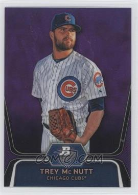 2012 Bowman Platinum Retail Prospects Purple Refractor #BPP95 - Trey McNutt